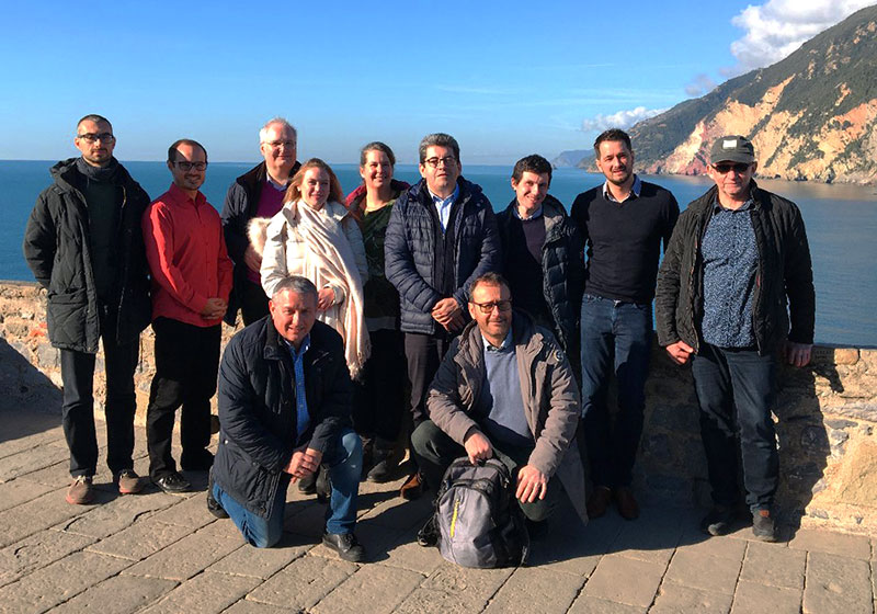 First Work Package progress meeting at La Spezia, Italy