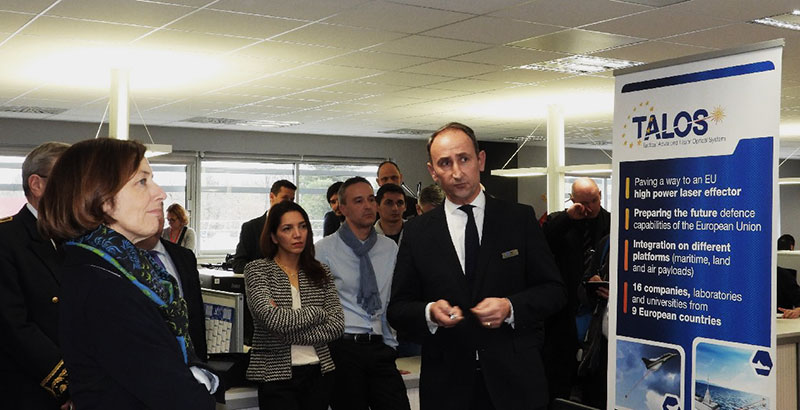 Minister of the French Armed Forces visits CILAS